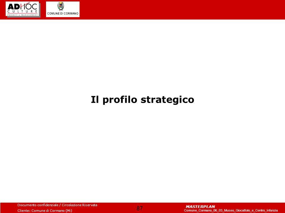 Il profilo strategico