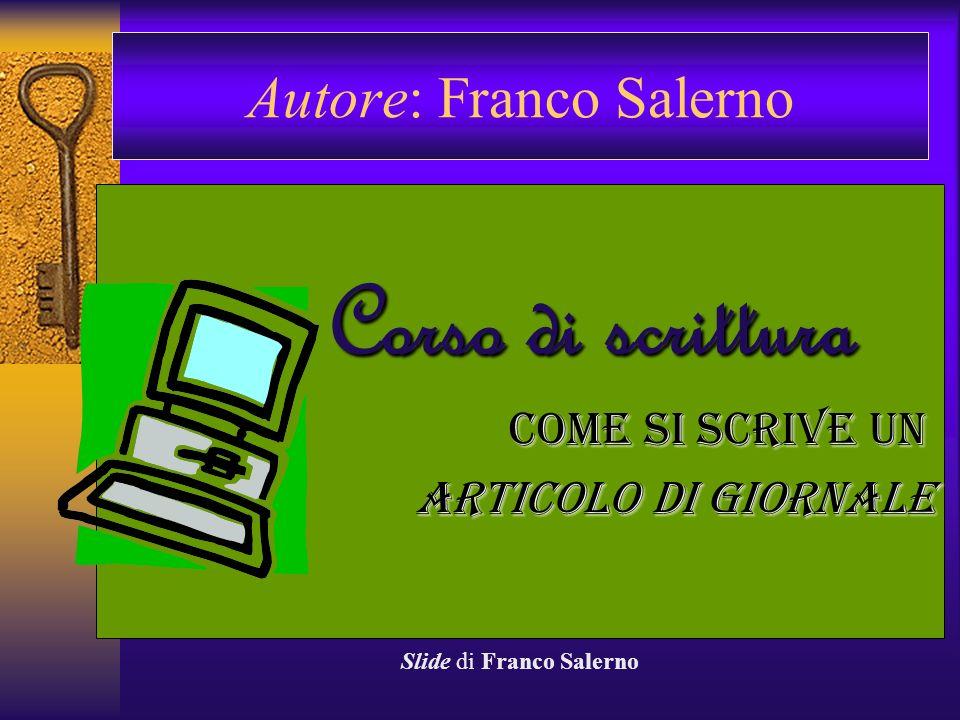 Autore: Franco Salerno