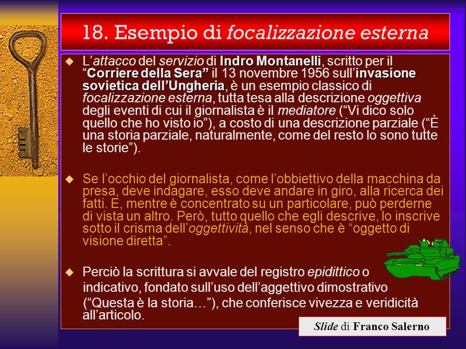 18. Esempio di focalizzazione esterna