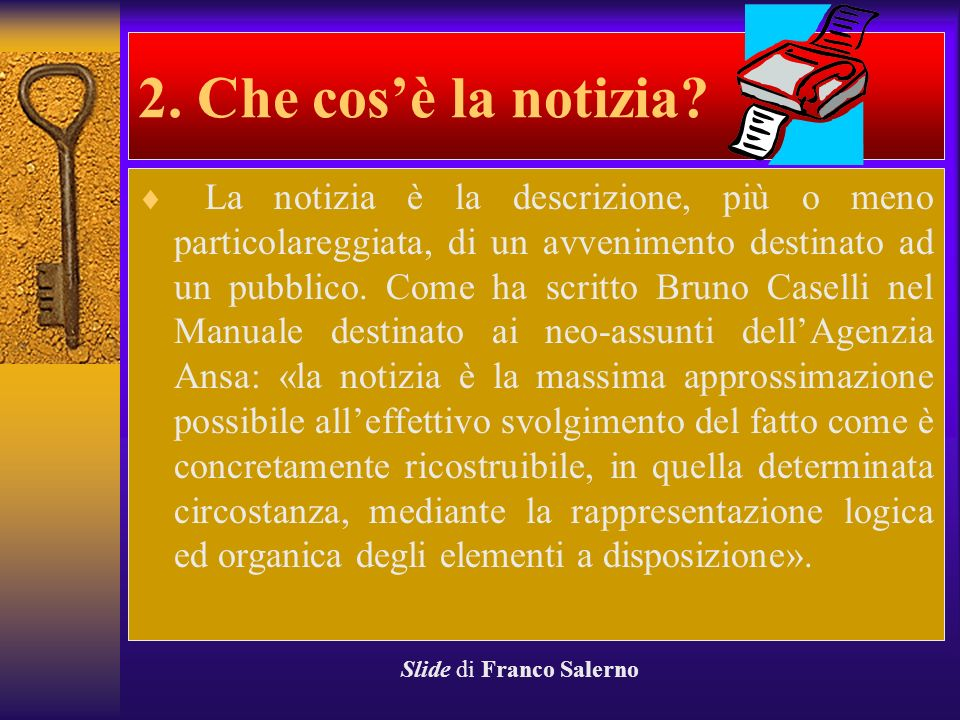 Slide di Franco Salerno