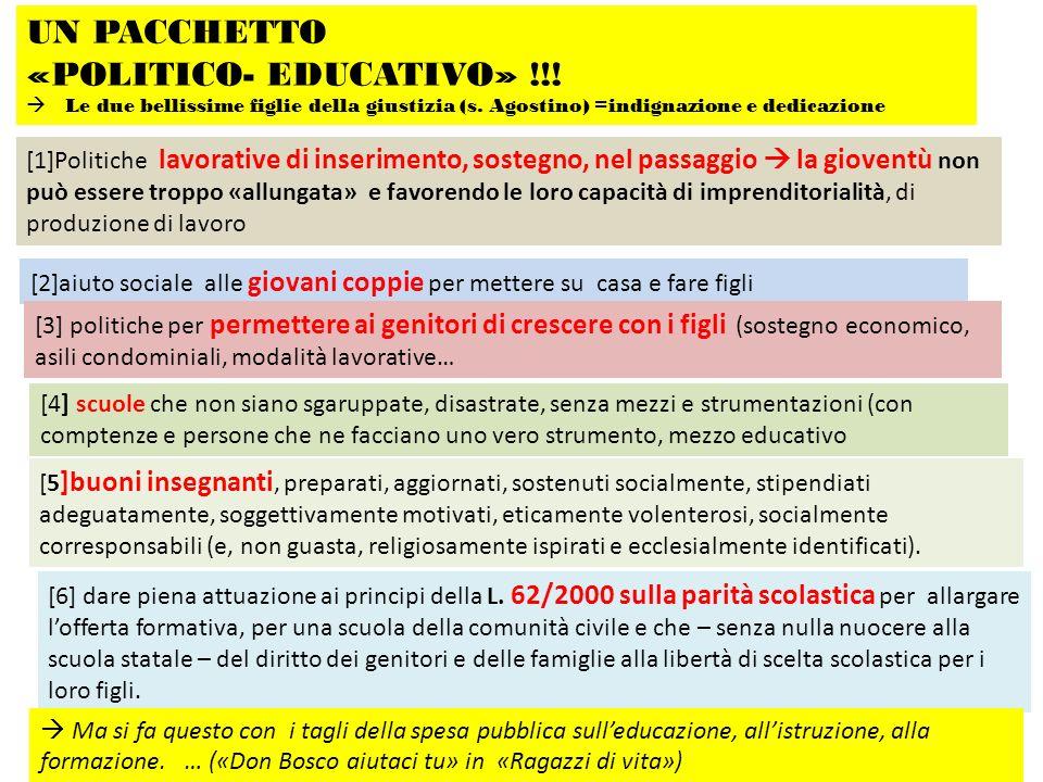 «POLITICO- EDUCATIVO» !!!