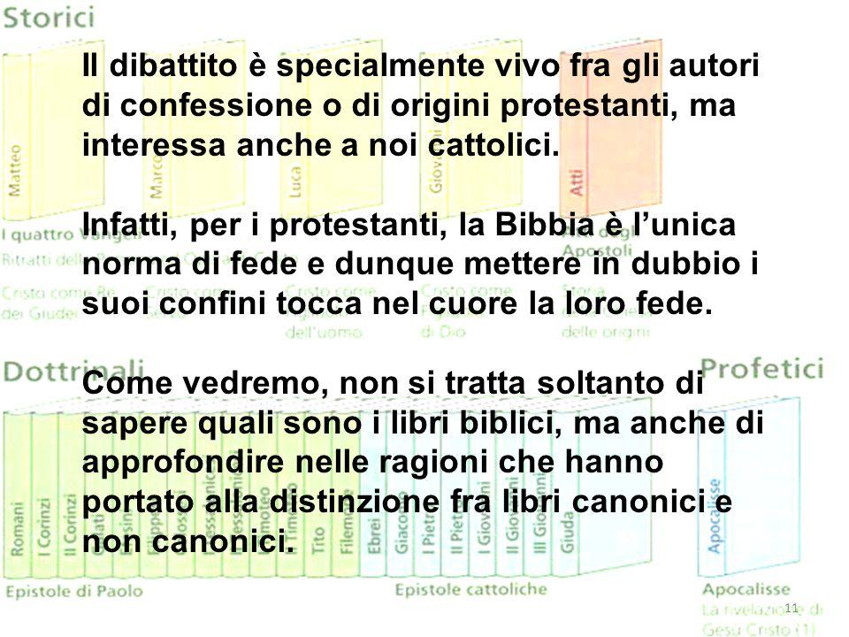 Il dibattito è specialmente vivo fra gli autori di confessione o di origini protestanti, ma interessa anche a noi cattolici.
