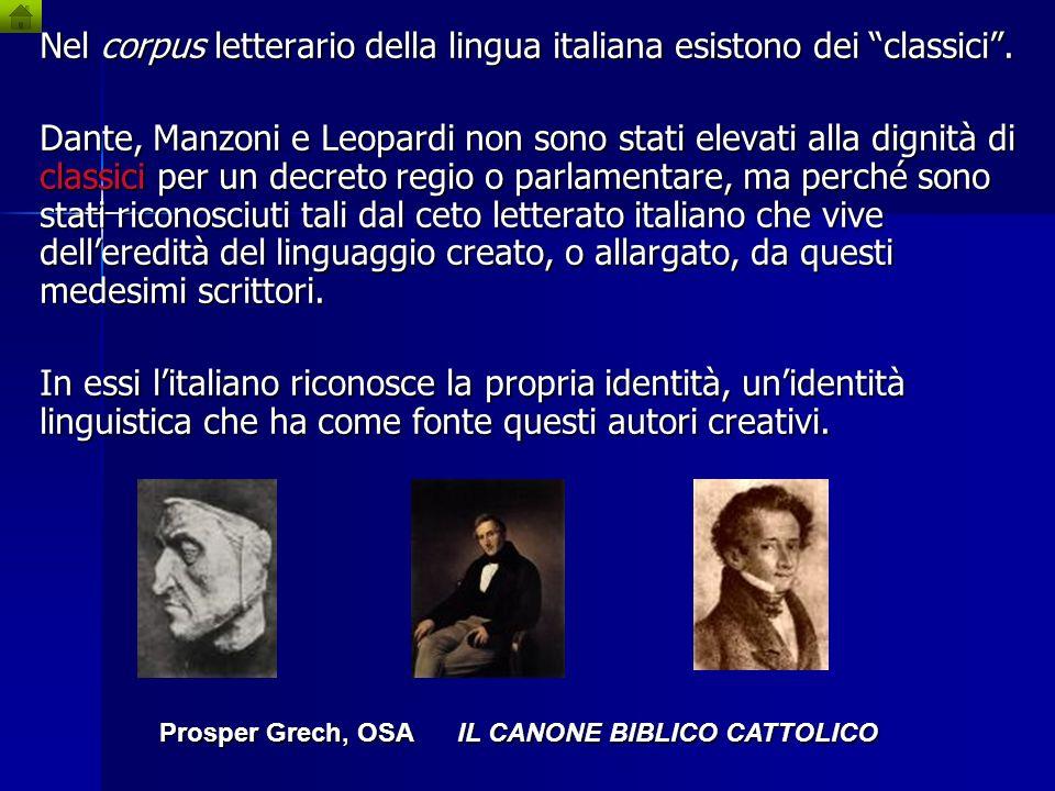 Prosper Grech, OSA IL CANONE BIBLICO CATTOLICO