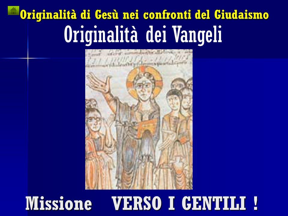 Originalità dei Vangeli