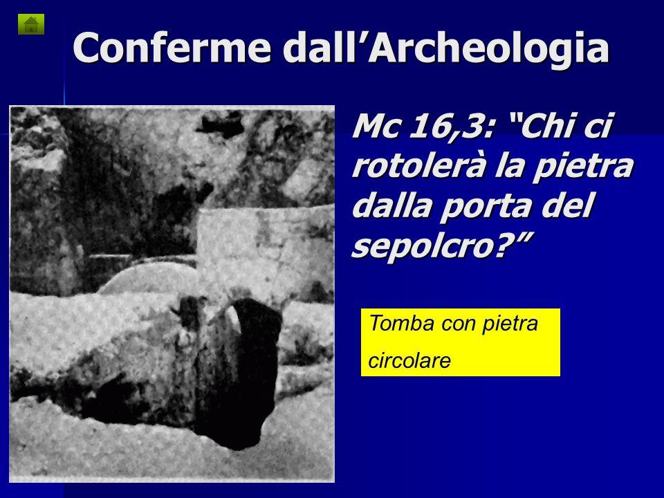 Mc 16,3: Chi ci rotolerà la pietra dalla porta del sepolcro
