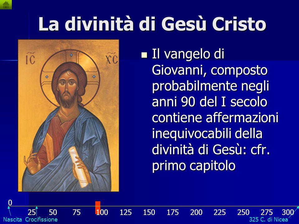 La divinità di Gesù Cristo