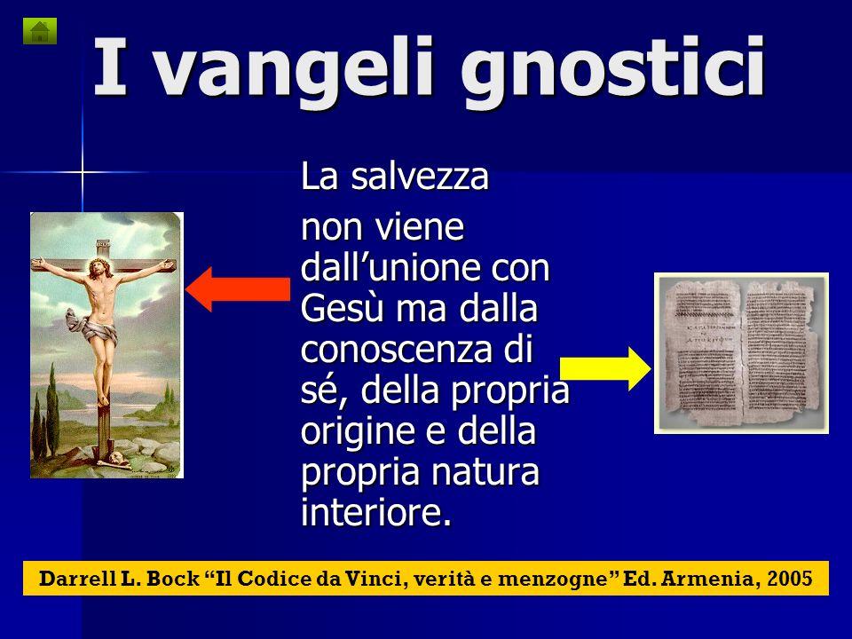 I vangeli gnostici La salvezza