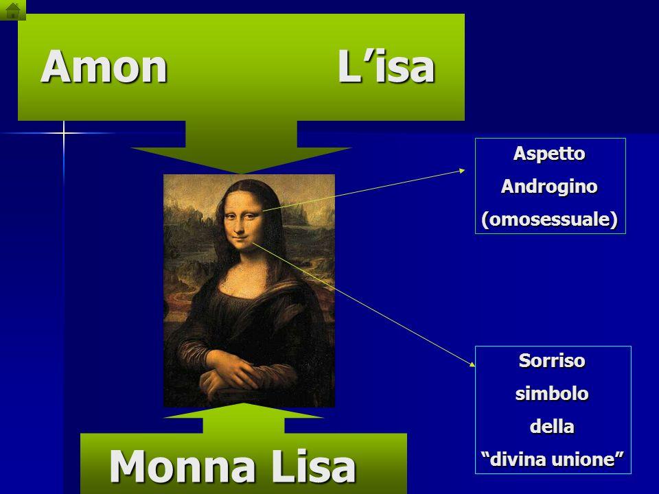 Amon L'isa Monna Lisa Aspetto Androgino (omosessuale) Sorriso simbolo