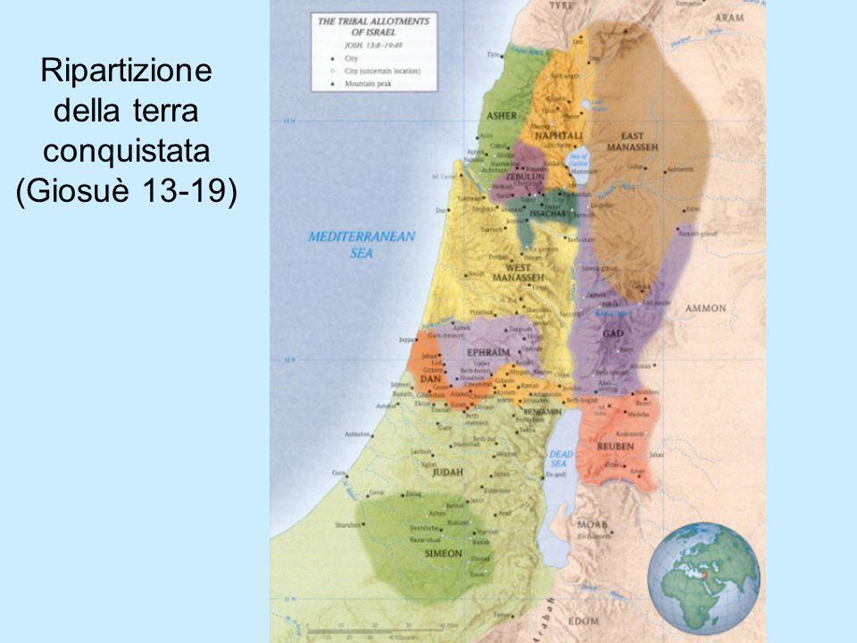 Ripartizione della terra conquistata (Giosuè 13-19)