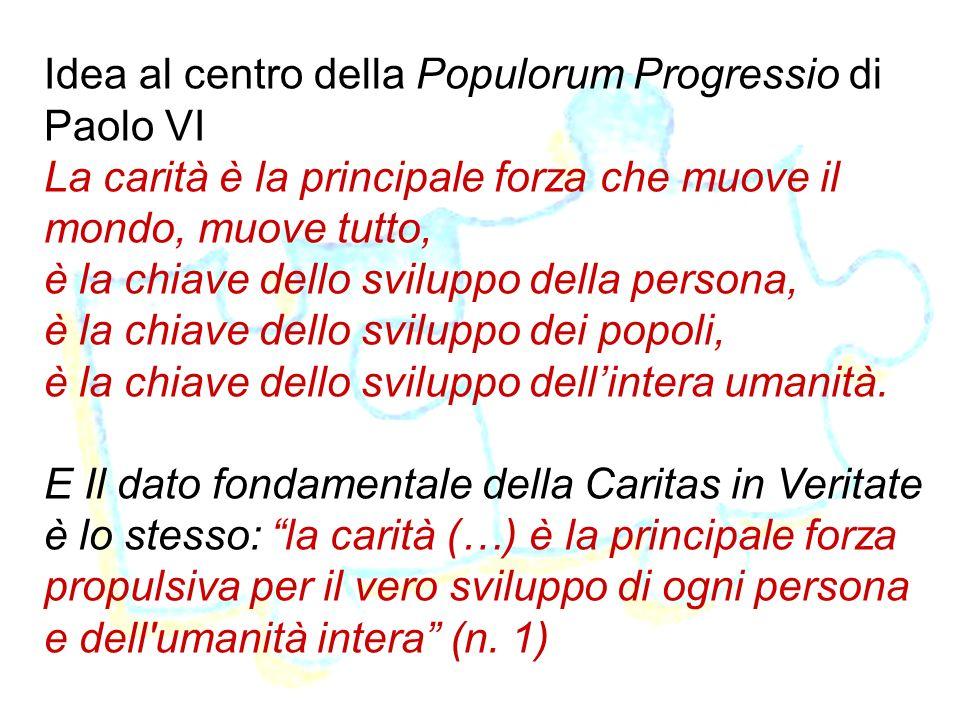 Idea al centro della Populorum Progressio di Paolo VI