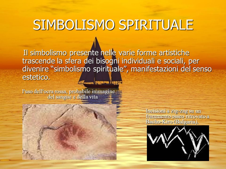 SIMBOLISMO SPIRITUALE