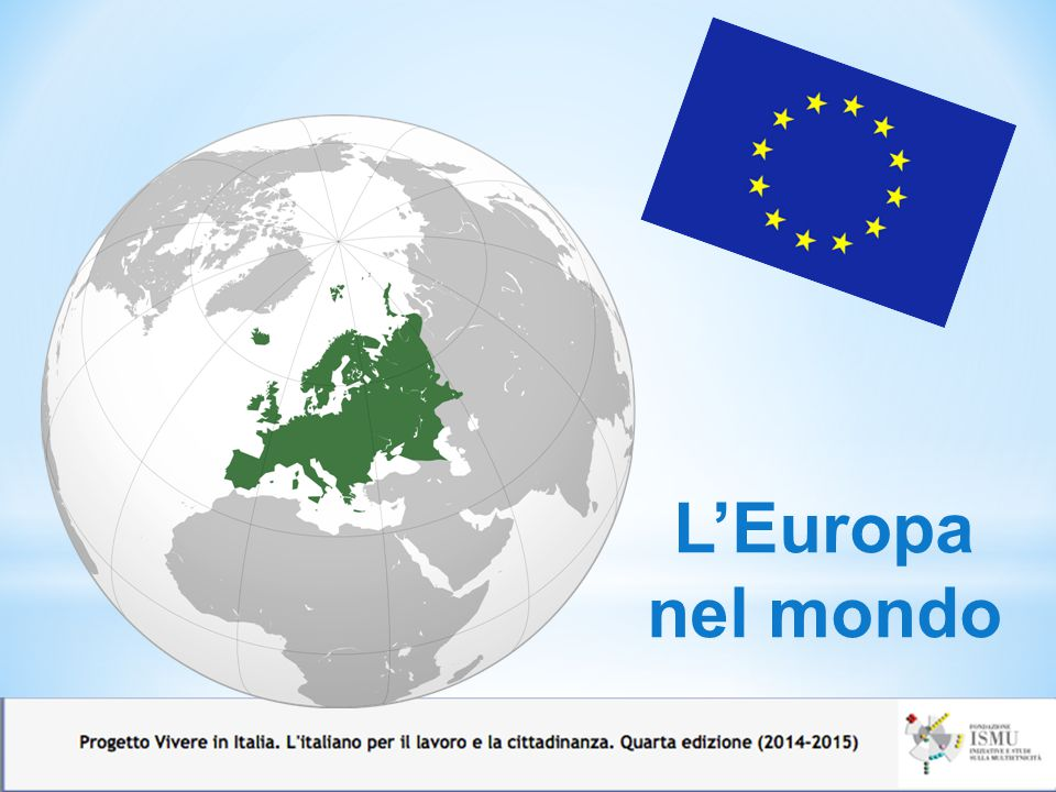 L'Europa nel mondo