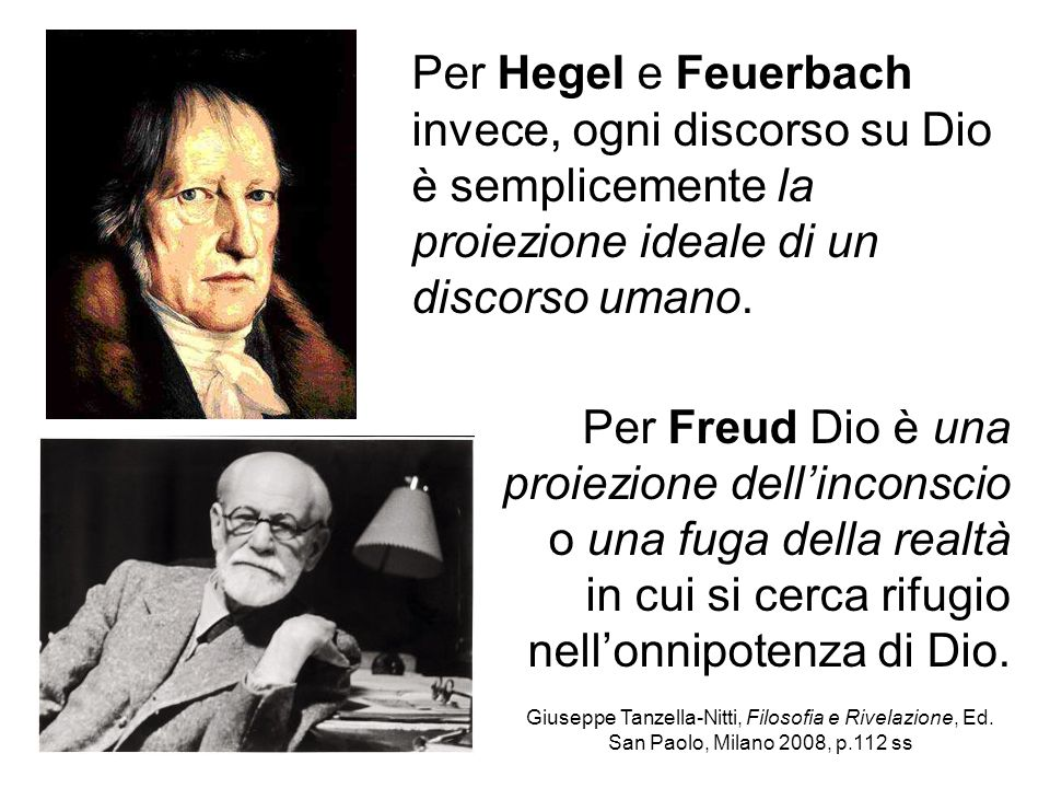 Per Freud Dio è una proiezione dell'inconscio o una fuga della realtà