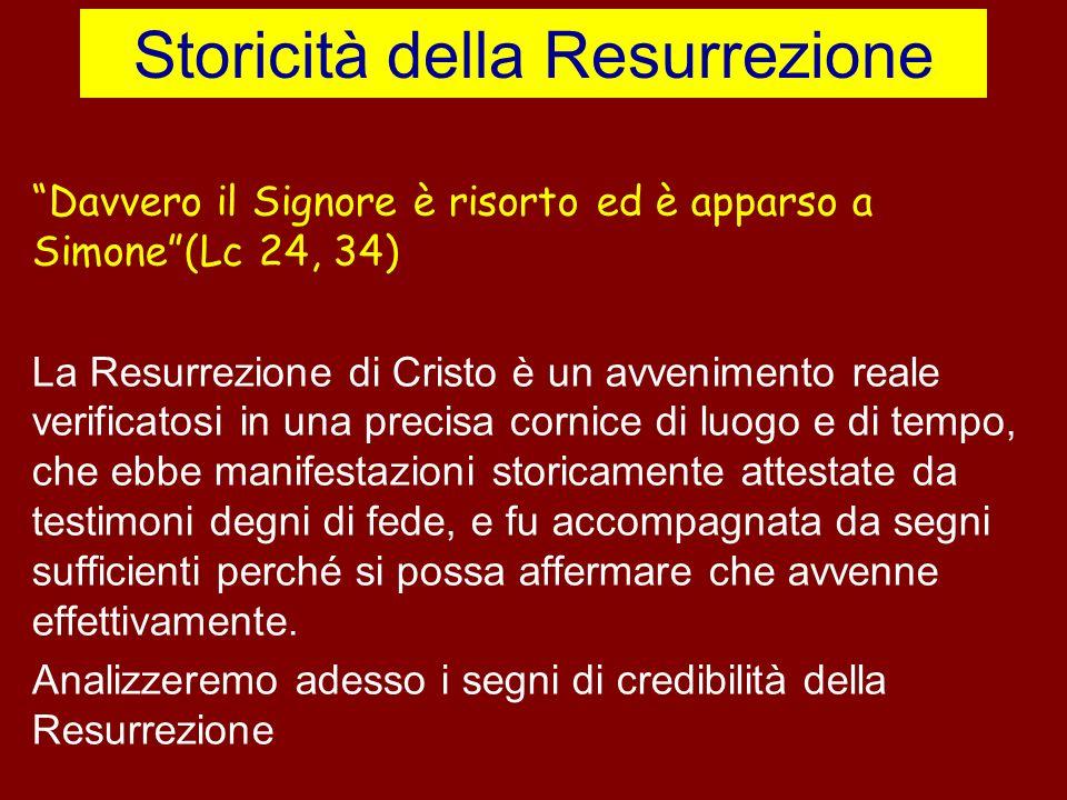 Storicità della Resurrezione
