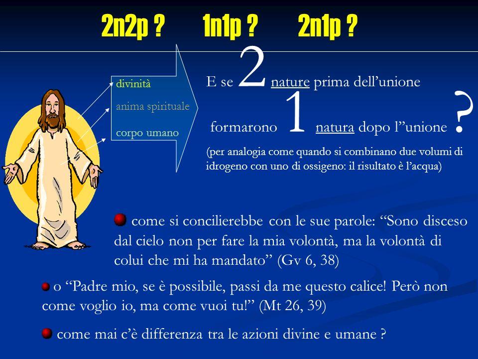 2n2p 1n1p 2n1p E se 2 nature prima dell'unione. formarono 1 natura dopo l''unione divinità.