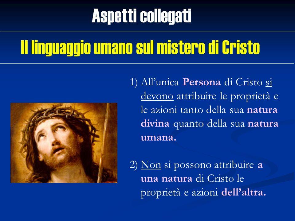 Il linguaggio umano sul mistero di Cristo