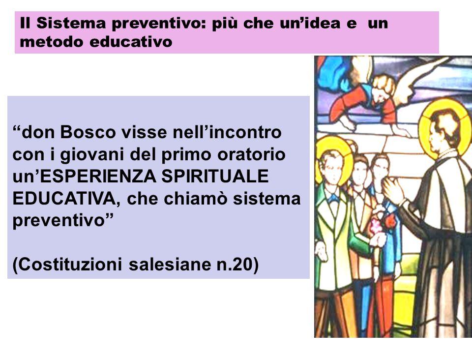 (Costituzioni salesiane n.20)