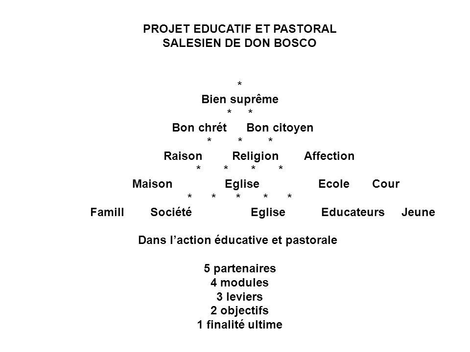 Dans l'action éducative et pastorale