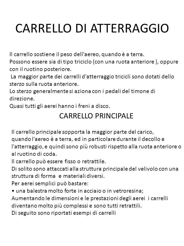 CARRELLO DI ATTERRAGGIO