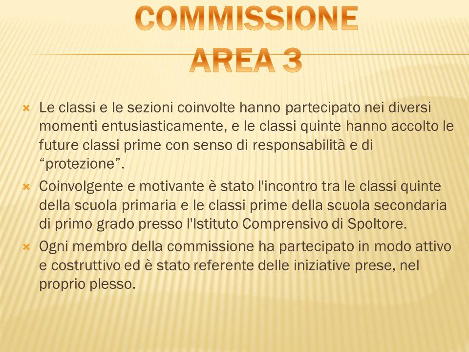 COMMISSIONE AREA 3