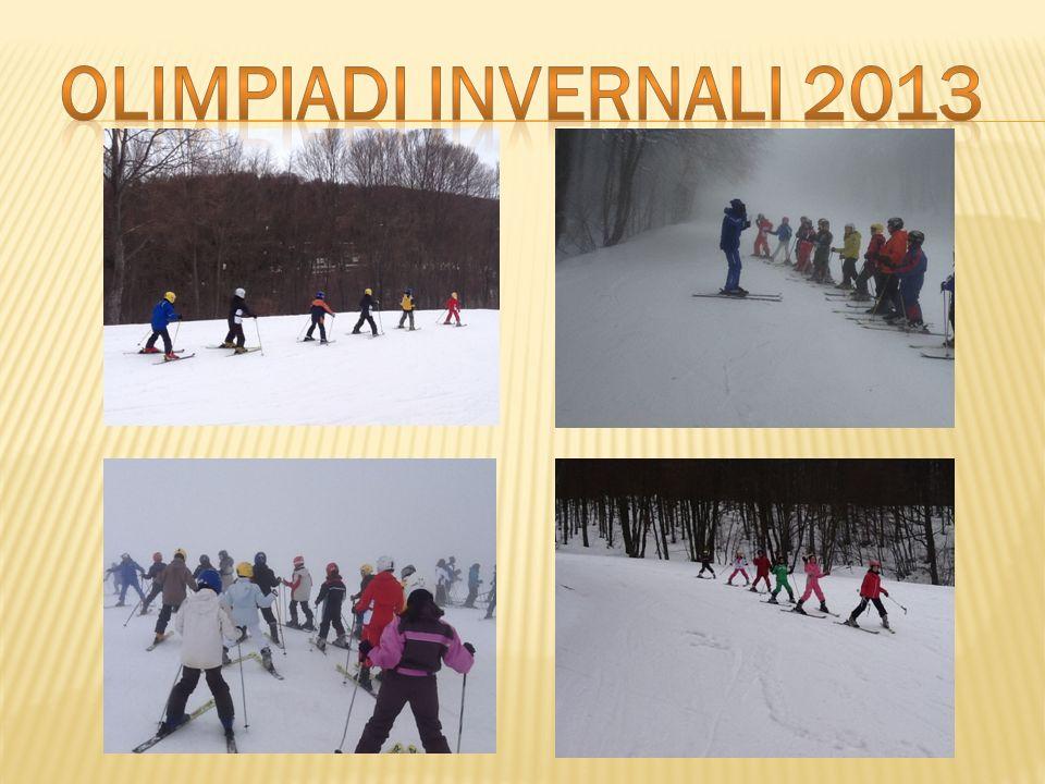 OLIMPIADI INVERNALI 2013