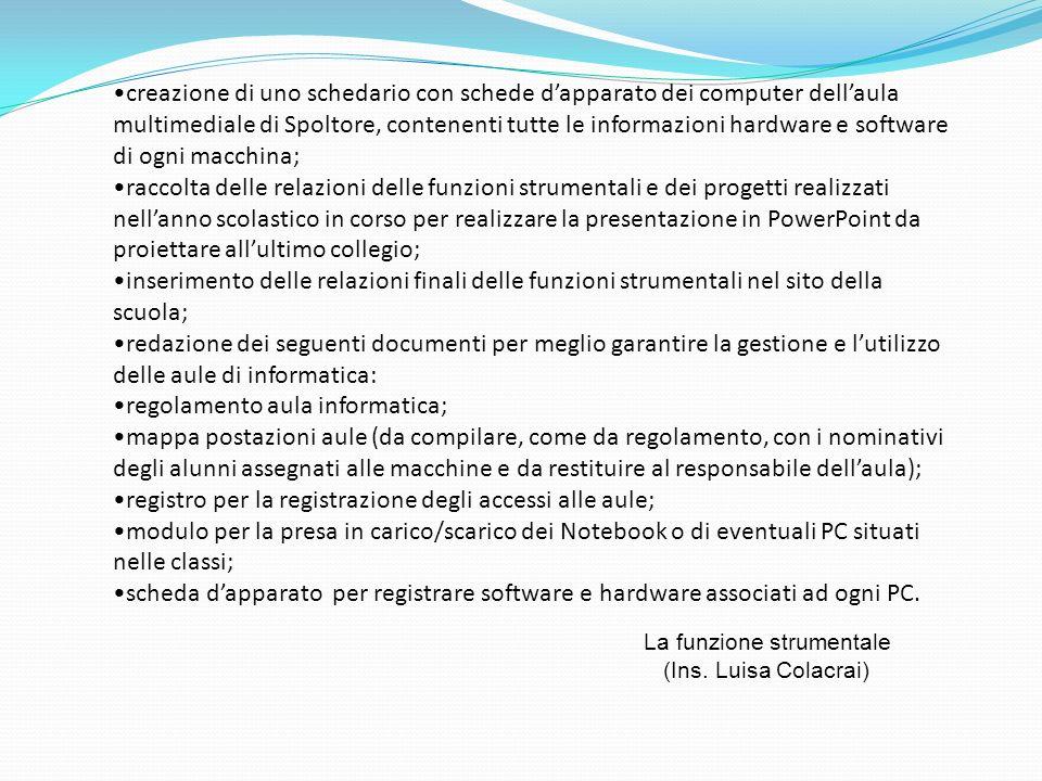 regolamento aula informatica;