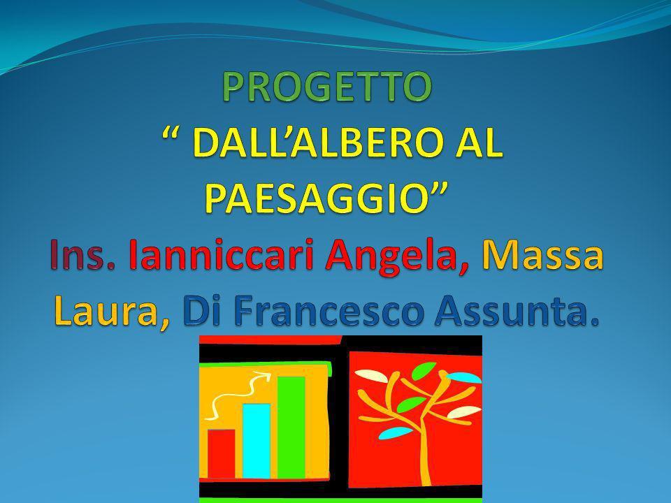 PROGETTO DALL'ALBERO AL PAESAGGIO Ins