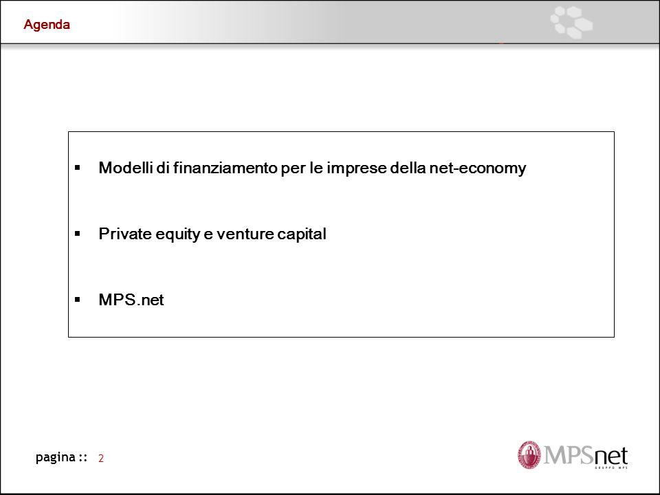 Modelli di finanziamento per le imprese della net-economy