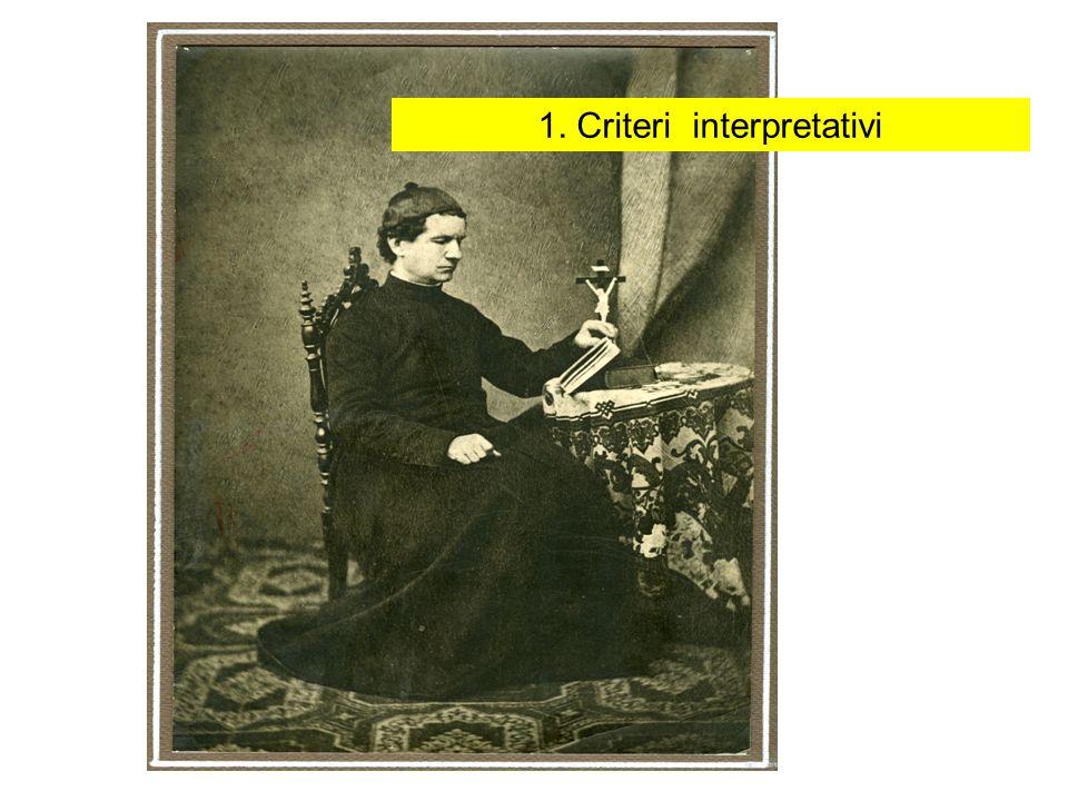 1. Criteri interpretativi