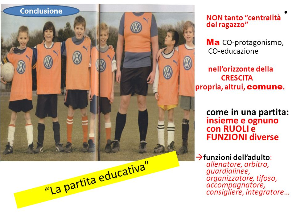 La partita educativa