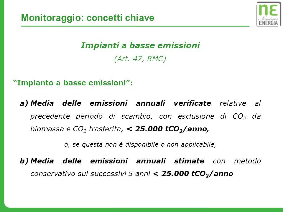 Impianti a basse emissioni