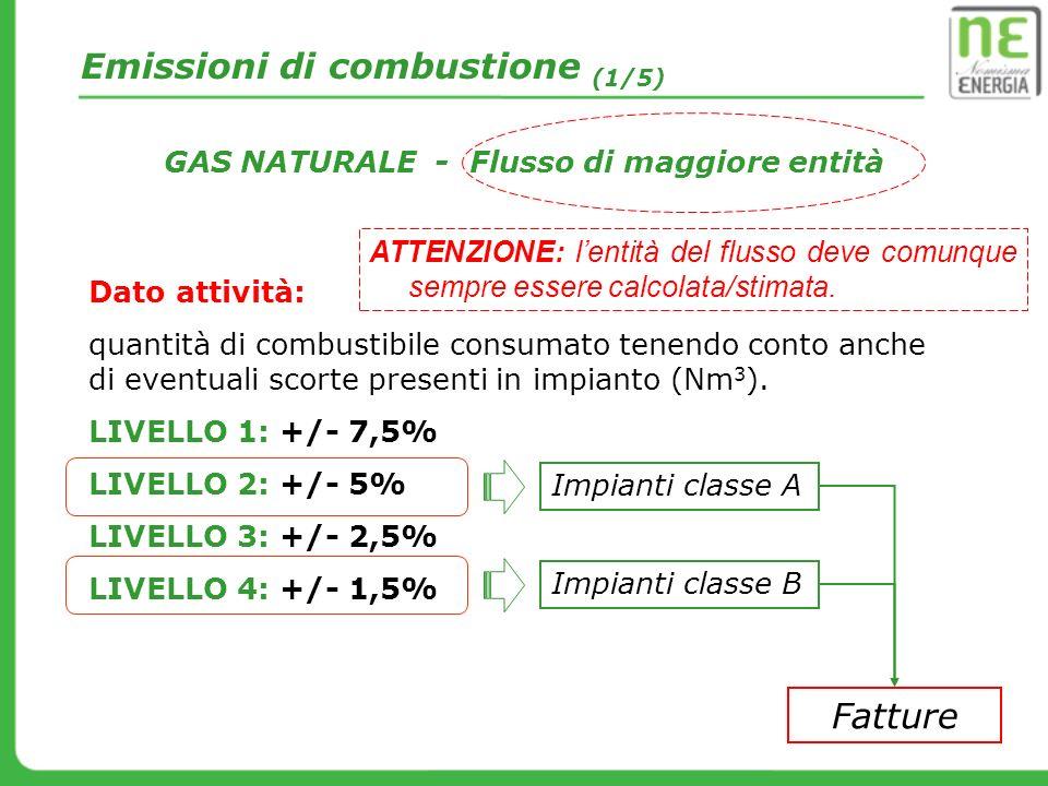 Emissioni di combustione (1/5)