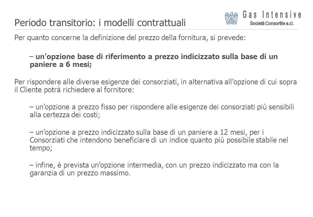 Periodo transitorio: i modelli contrattuali
