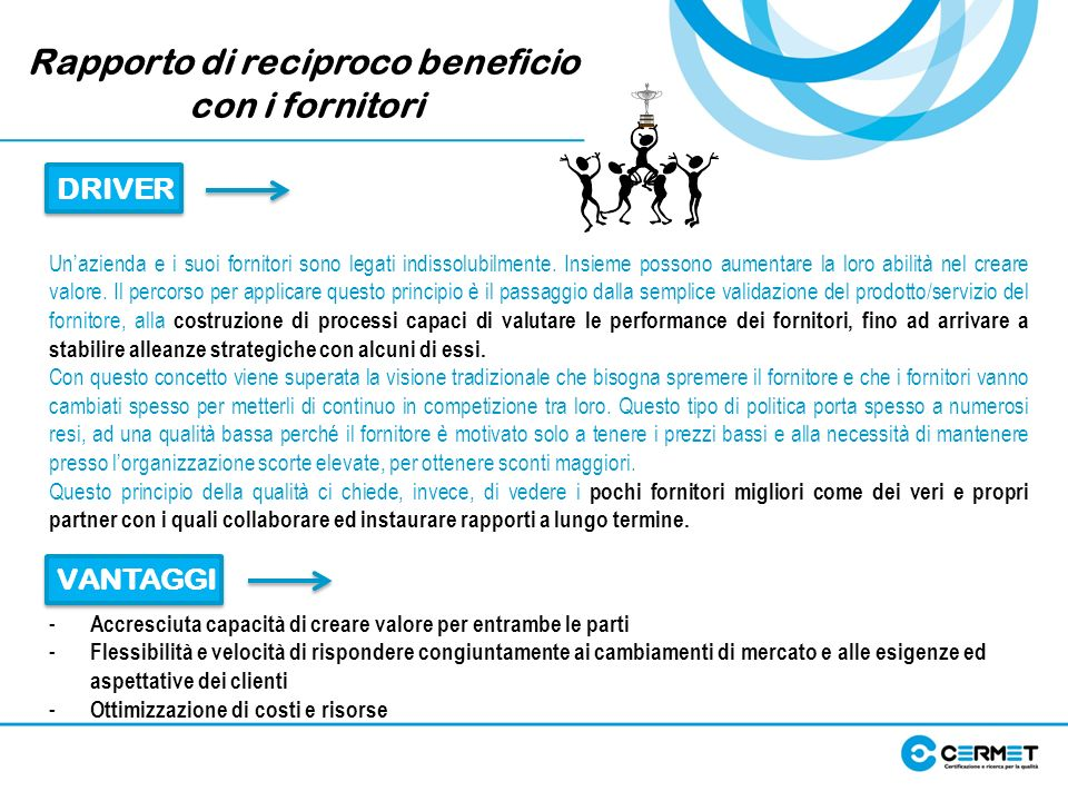 Rapporto di reciproco beneficio