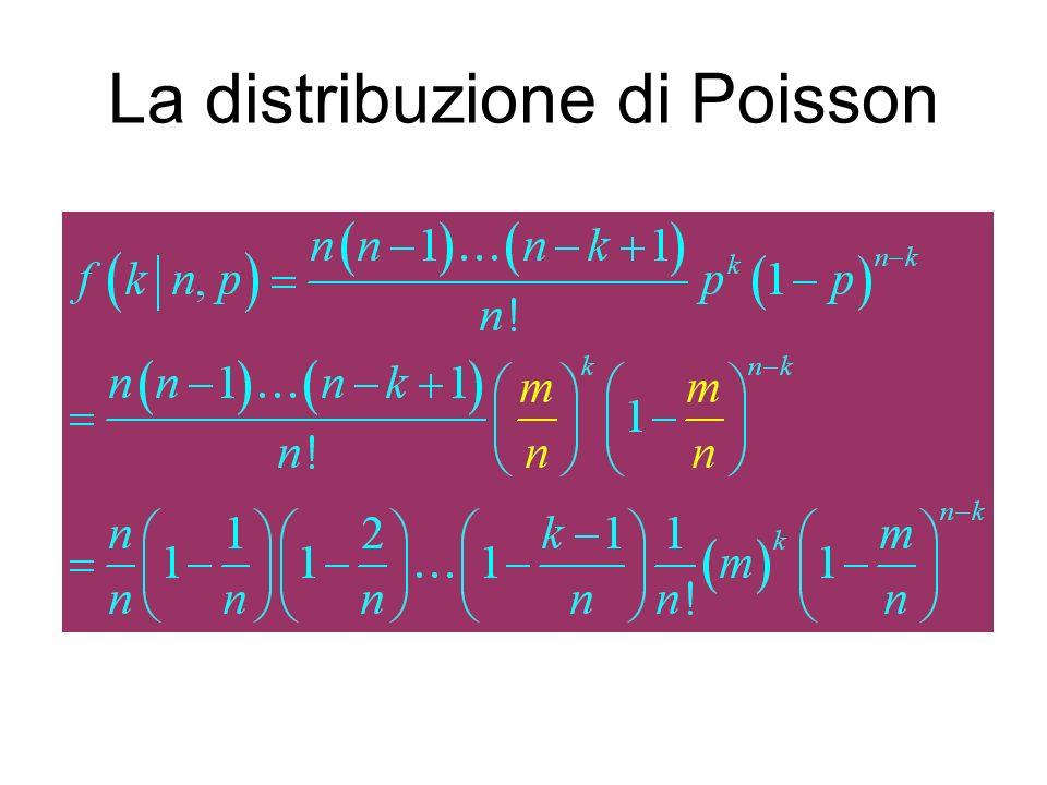 La distribuzione di Poisson