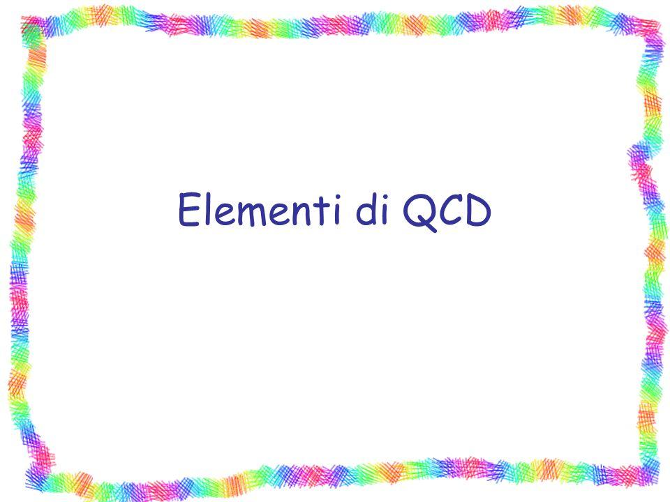 Elementi di QCD