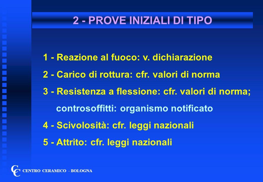 2 - PROVE INIZIALI DI TIPO