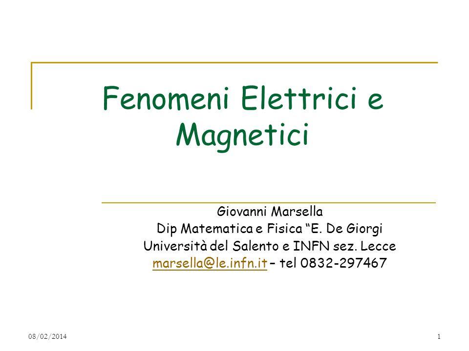 Fenomeni Elettrici e Magnetici