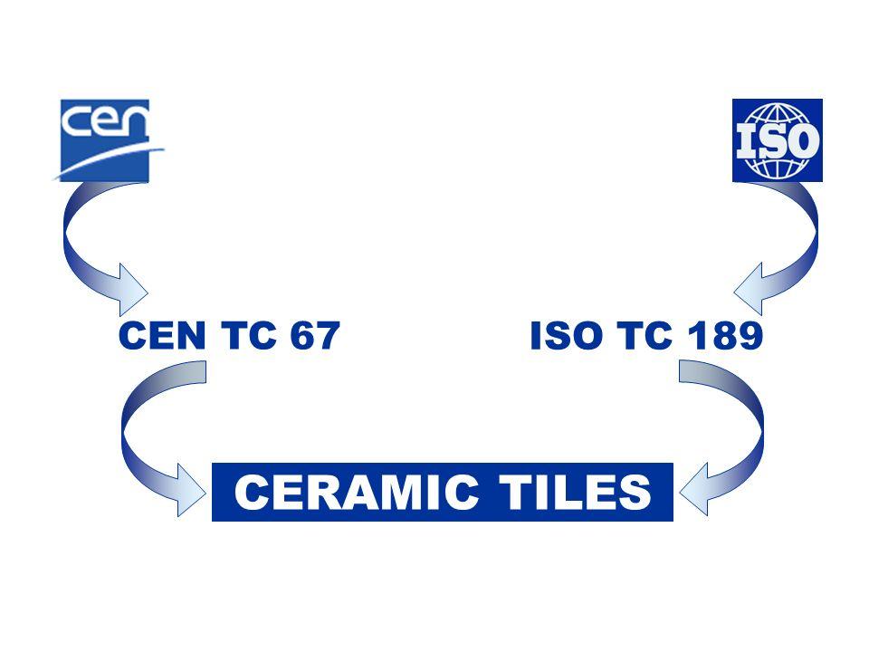 CEN TC 67 ISO TC 189 CERAMIC TILES