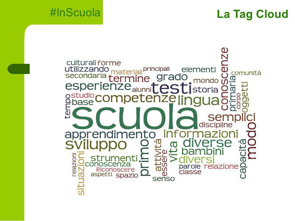 #InScuola La Tag Cloud