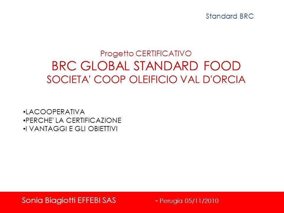BRC GLOBAL STANDARD FOOD