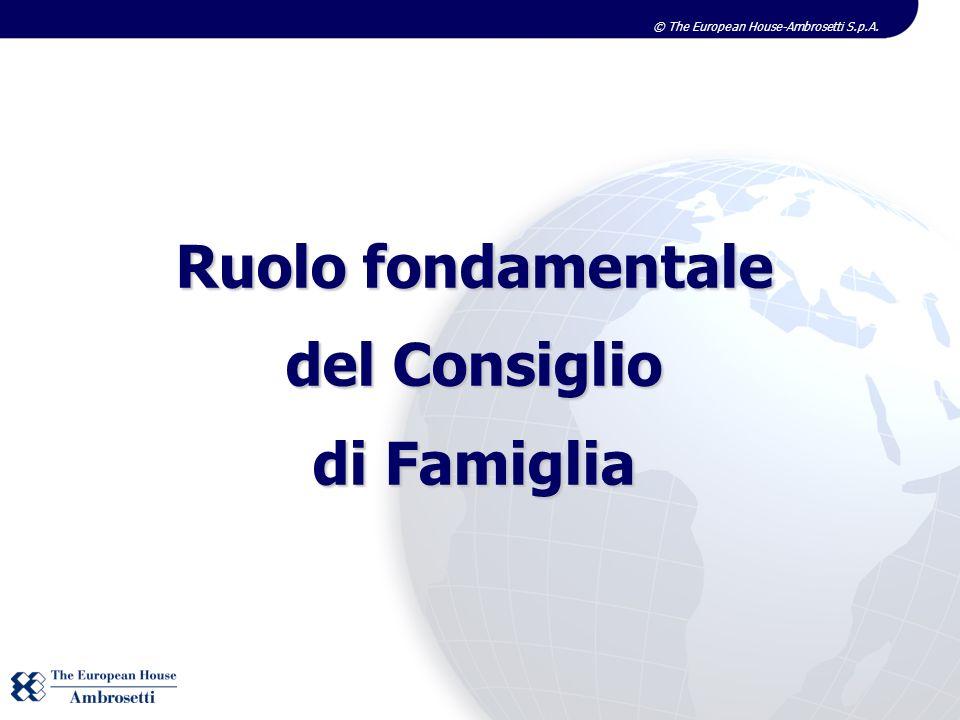 Ruolo fondamentale del Consiglio di Famiglia
