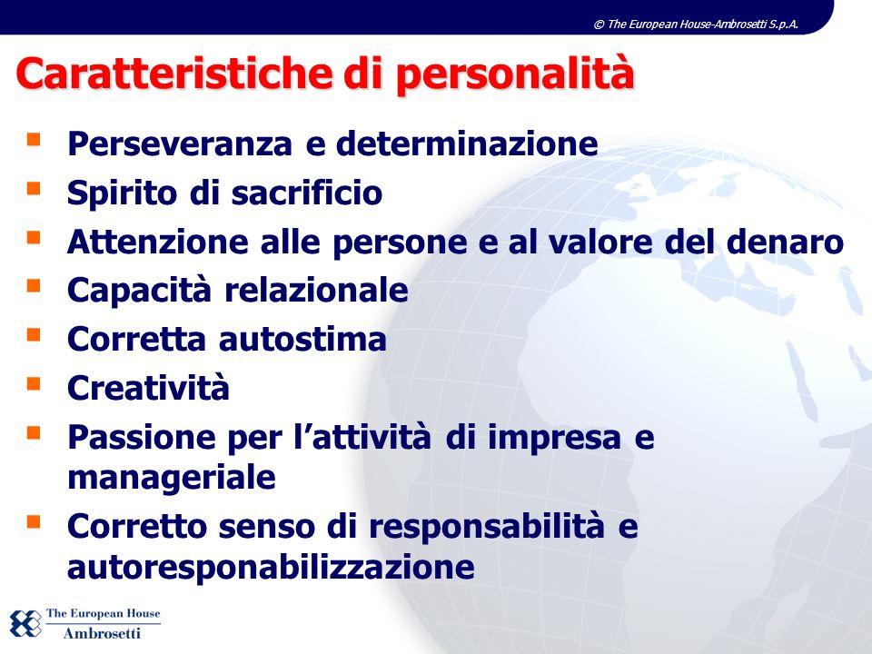 Caratteristiche di personalità