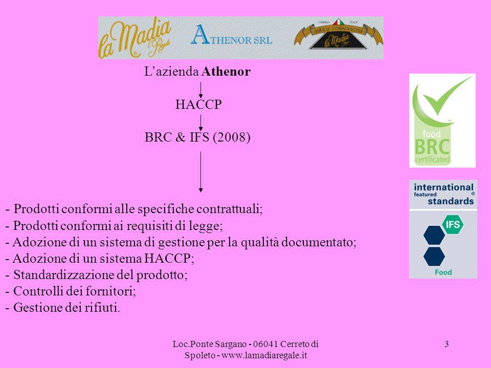 Loc.Ponte Sargano - 06041 Cerreto di Spoleto - www.lamadiaregale.it