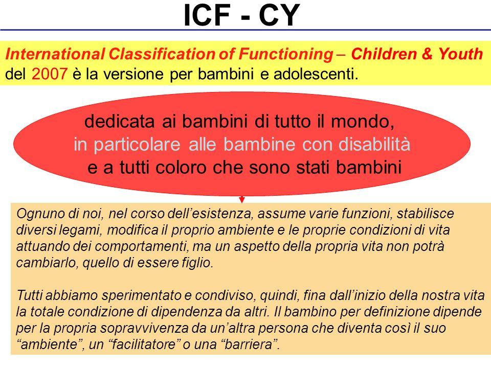 ICF - CY dedicata ai bambini di tutto il mondo,