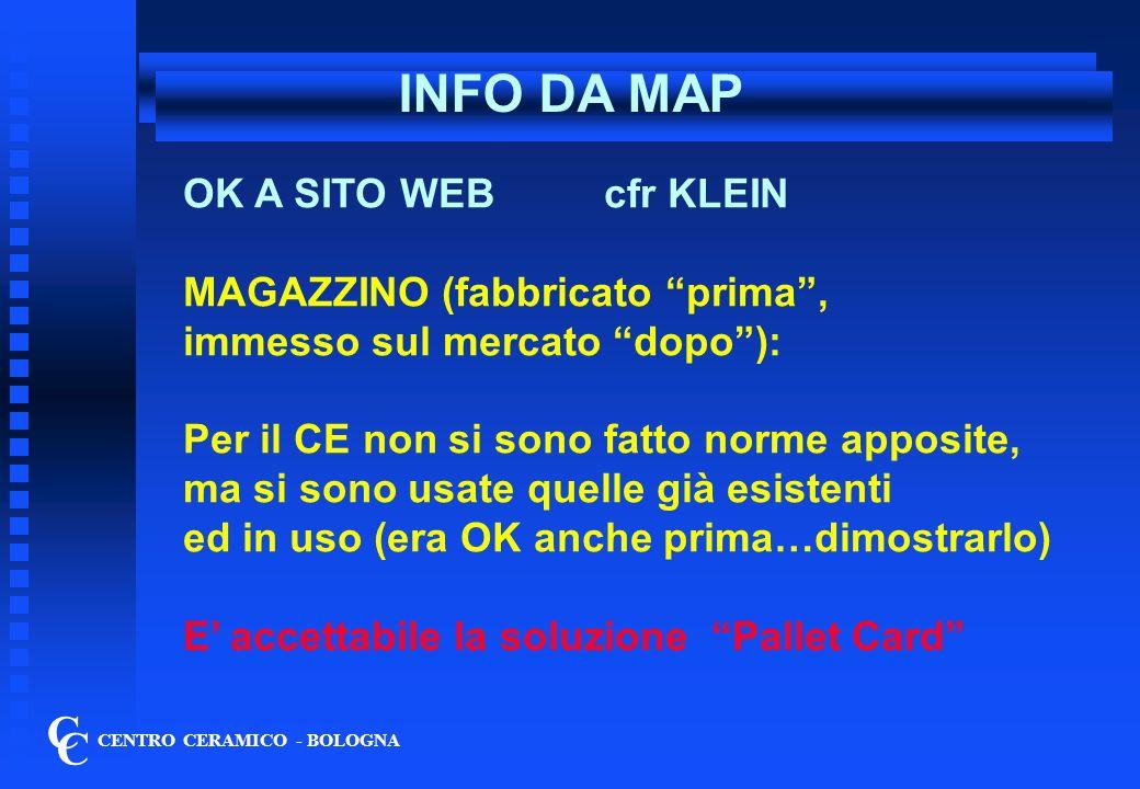 INFO DA MAP C C OK A SITO WEB cfr KLEIN MAGAZZINO (fabbricato prima ,