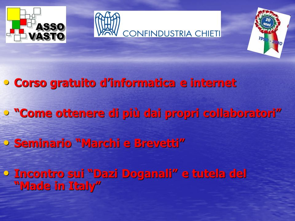 Corso gratuito d'informatica e internet