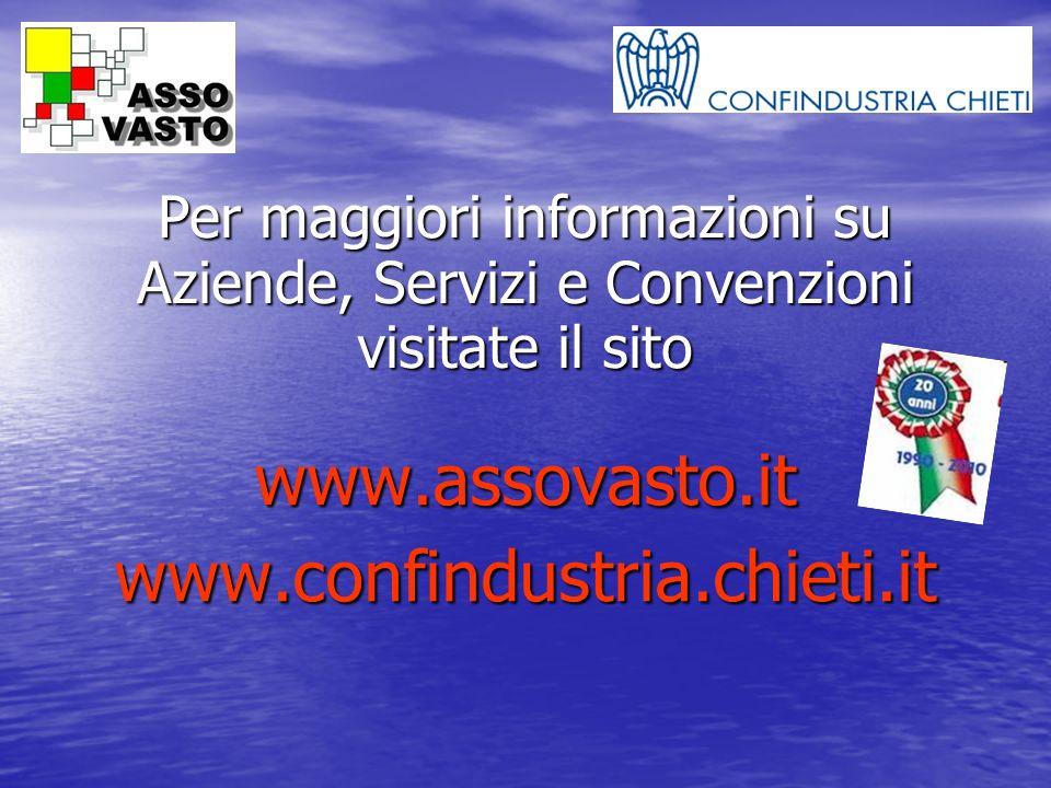 www.assovasto.it www.confindustria.chieti.it