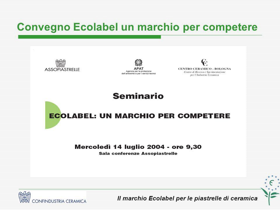Convegno Ecolabel un marchio per competere