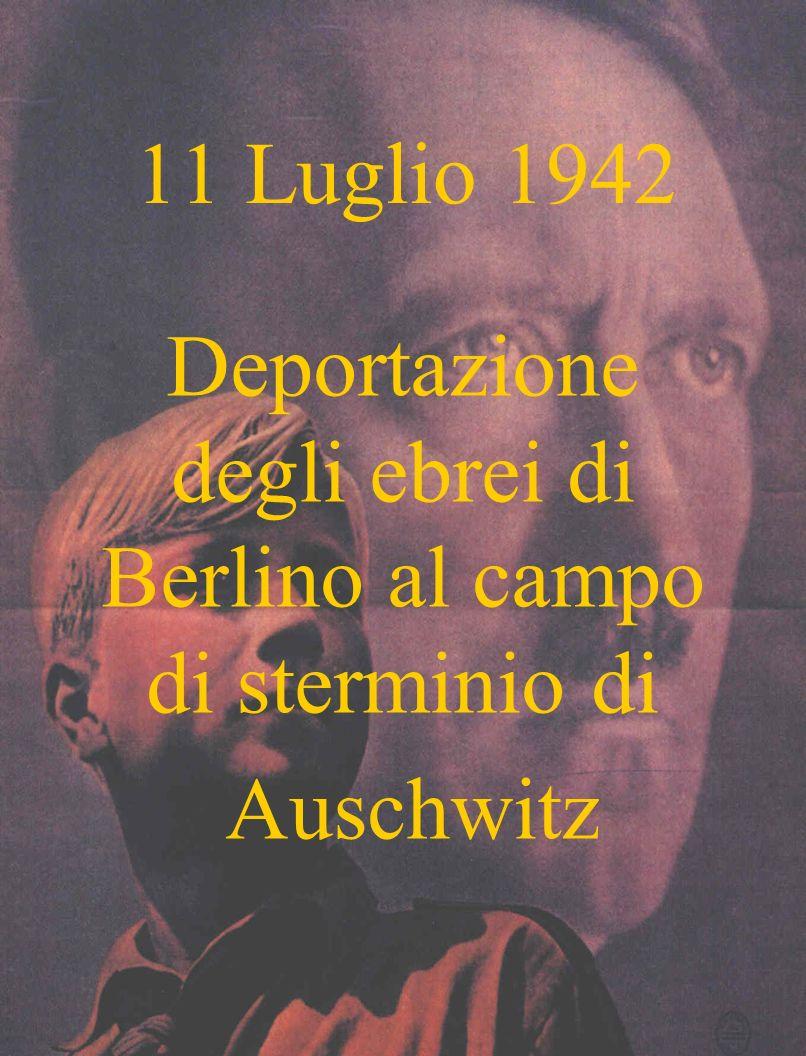 Deportazione degli ebrei di Berlino al campo di sterminio di